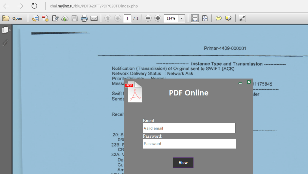 Scam Of The Week: Locked PDF Phishing Attack
