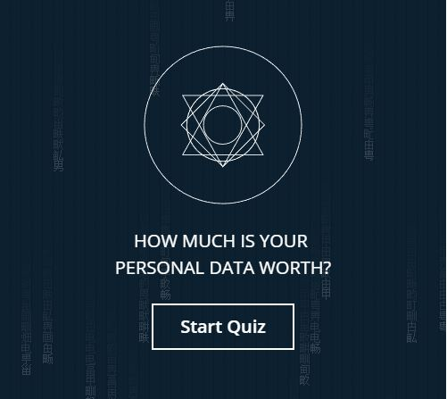 How much is your personal data worth? (Calculator)